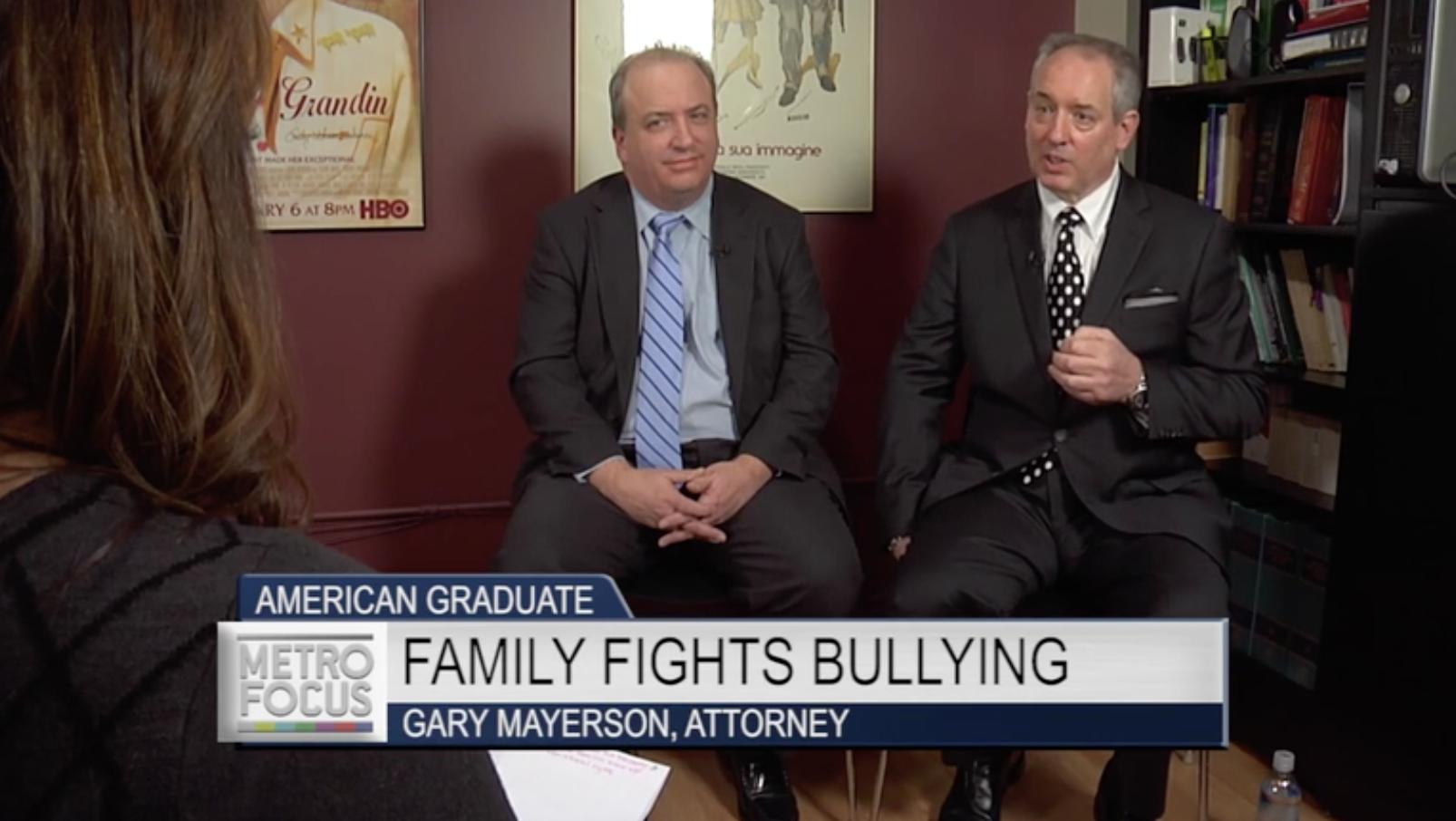 Gary Mayerson – PBS MetroFocus