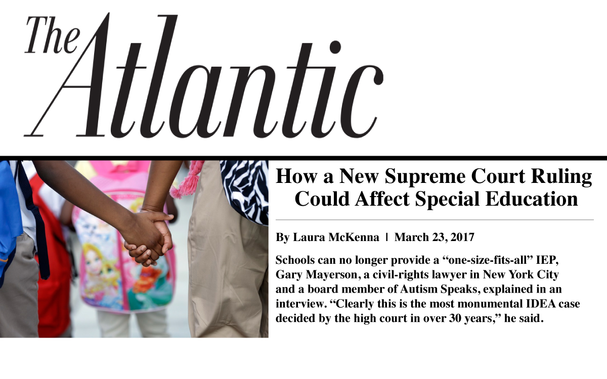 Gary Mayerson – The Atlantic