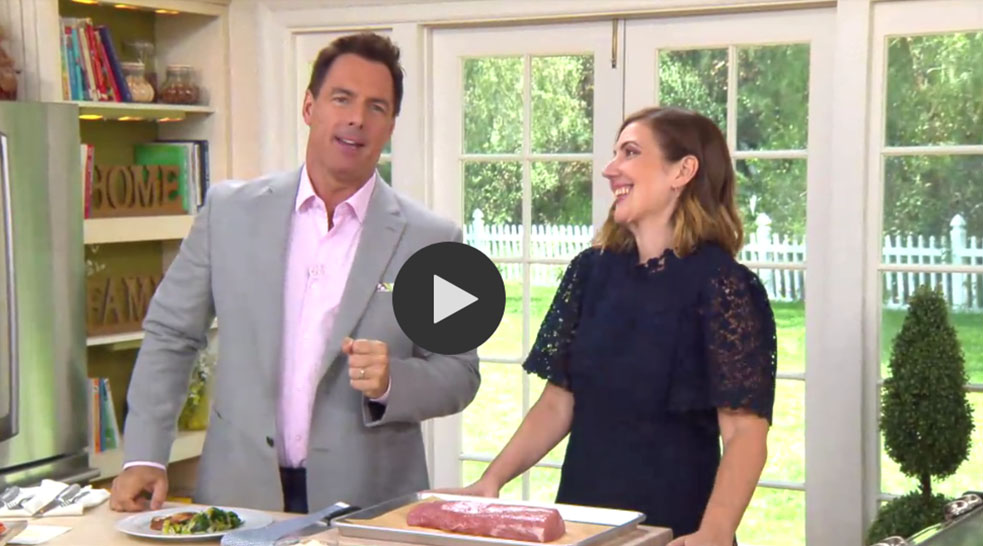 Stacie Billis on Hallmark Channel Home and Family Show